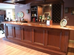 Custom made wood bars for home or restaurant-Modern Lumber of South Jersey