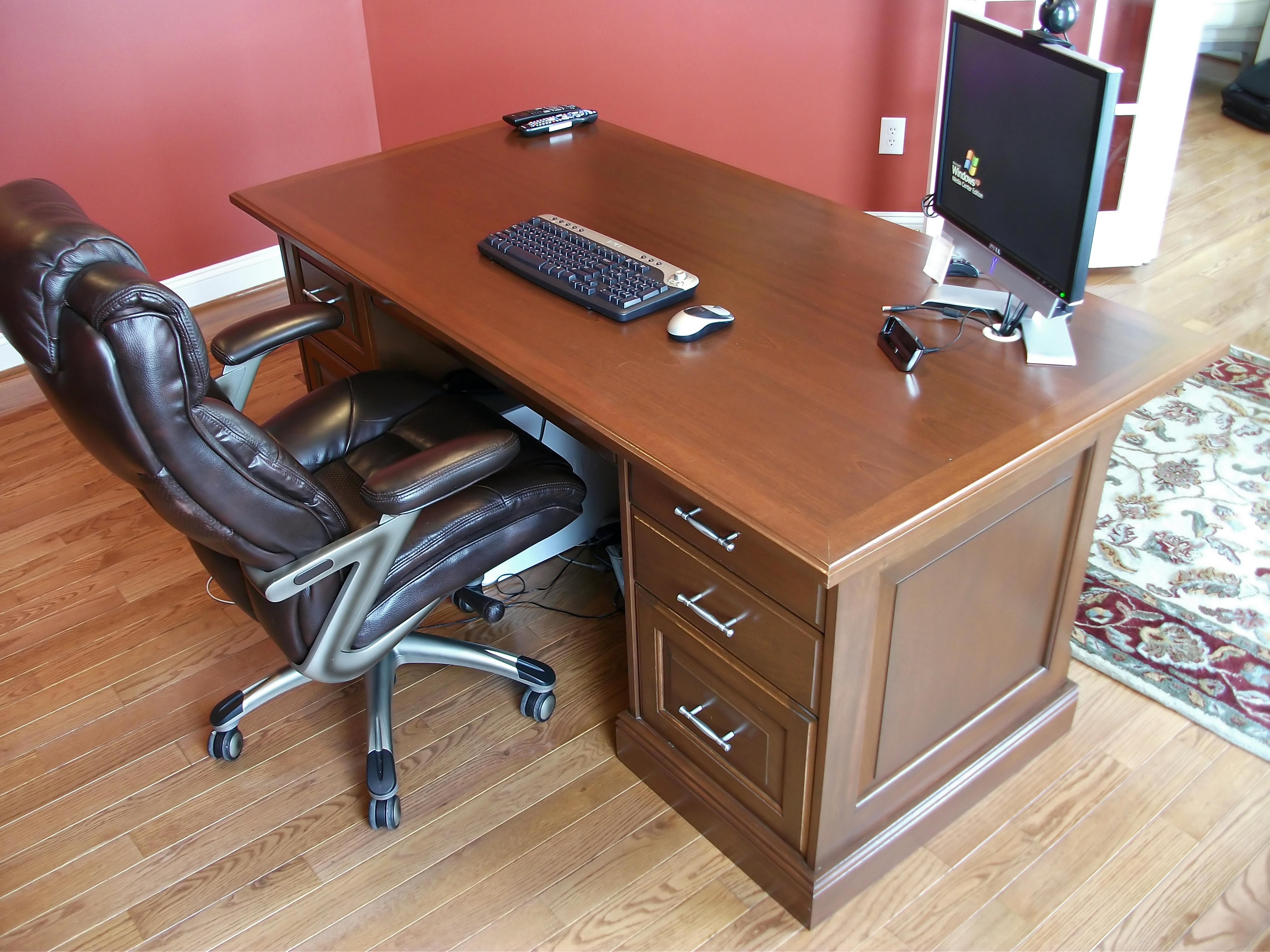 Superieur Custom Made Wood Desk By Modern Lumber Of Cherry Hill, NJ